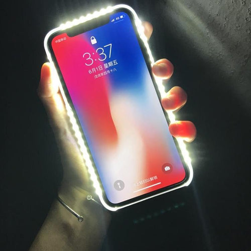 2019 Light Glow Phone Case For iPhone x Light Artifact - Buybens