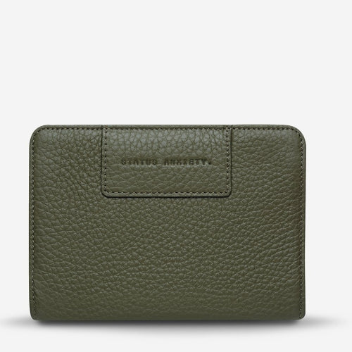 Status Anxiety Popular Problems Wallet - Khaki