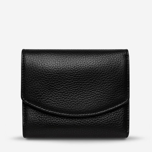 Status Anxiety Lucky Sometimes Wallet - Black