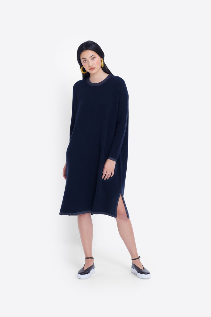 Elk Ines Knit Dress - Ink