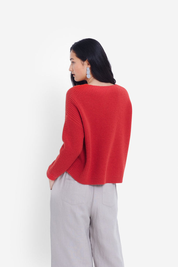 Elk Hennie Sweater - Amaranth