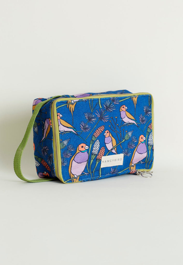 Nancybird Wash Bag - Gould Finch