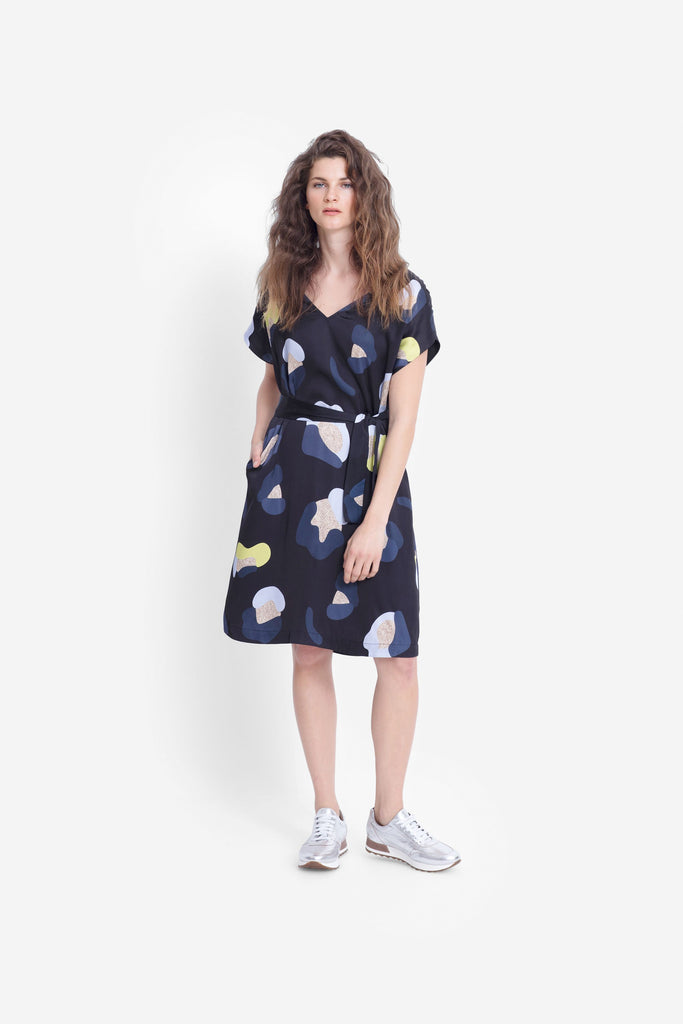 Elk Poppy Dress