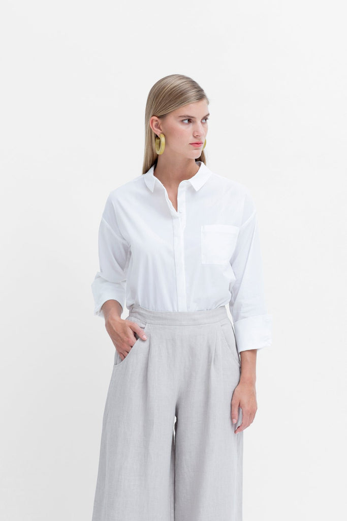Elk Maida Shirt - White