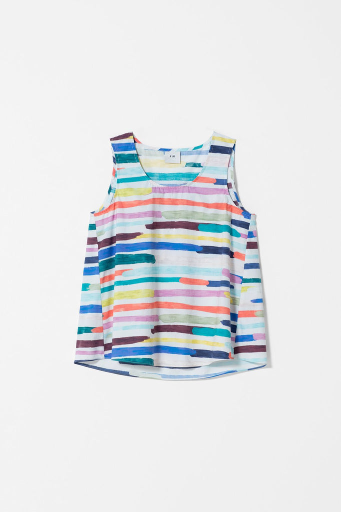 Elk Elme Top - Painted Stripe