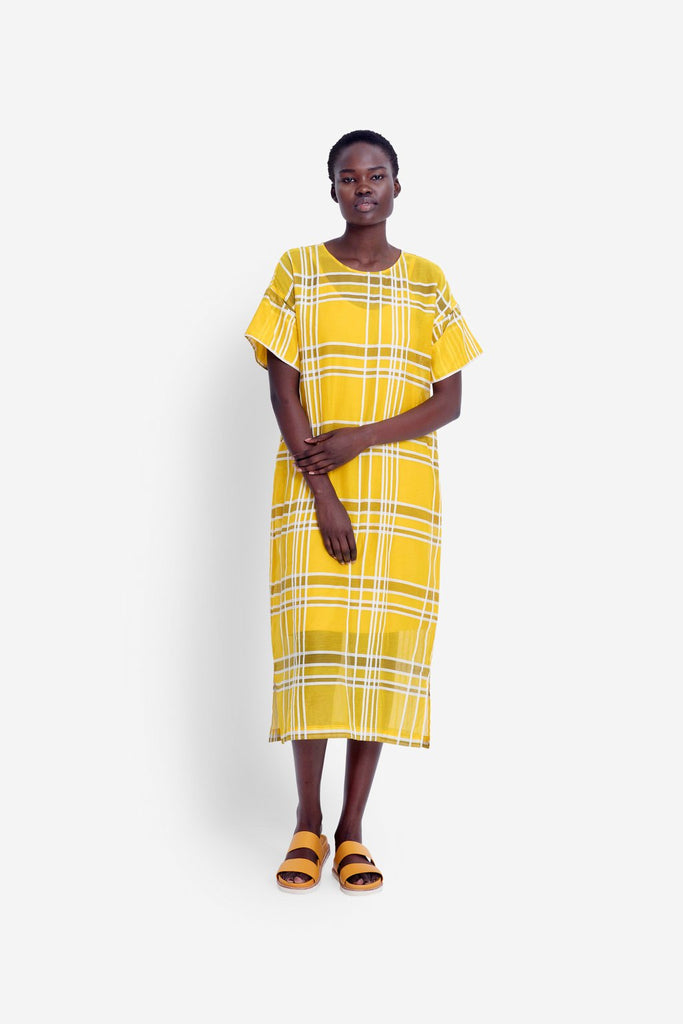 Elk Janeke Dress - Maize