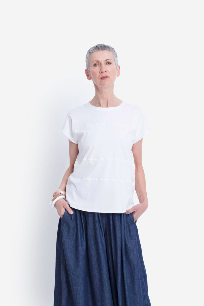 Elk Netto Tee - White