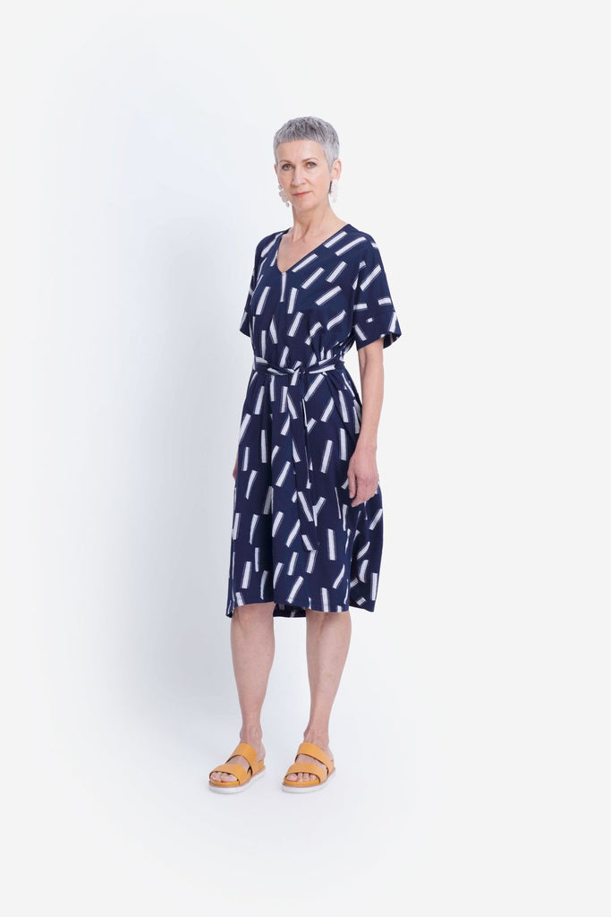 Elk Fyn Dress - Navy