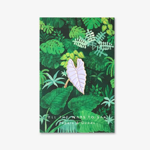All the Ways to Say Enamel Pin - Alocasia