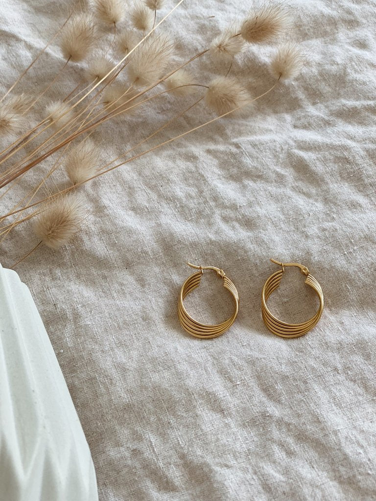 Kitsense Amy Twist Hoops