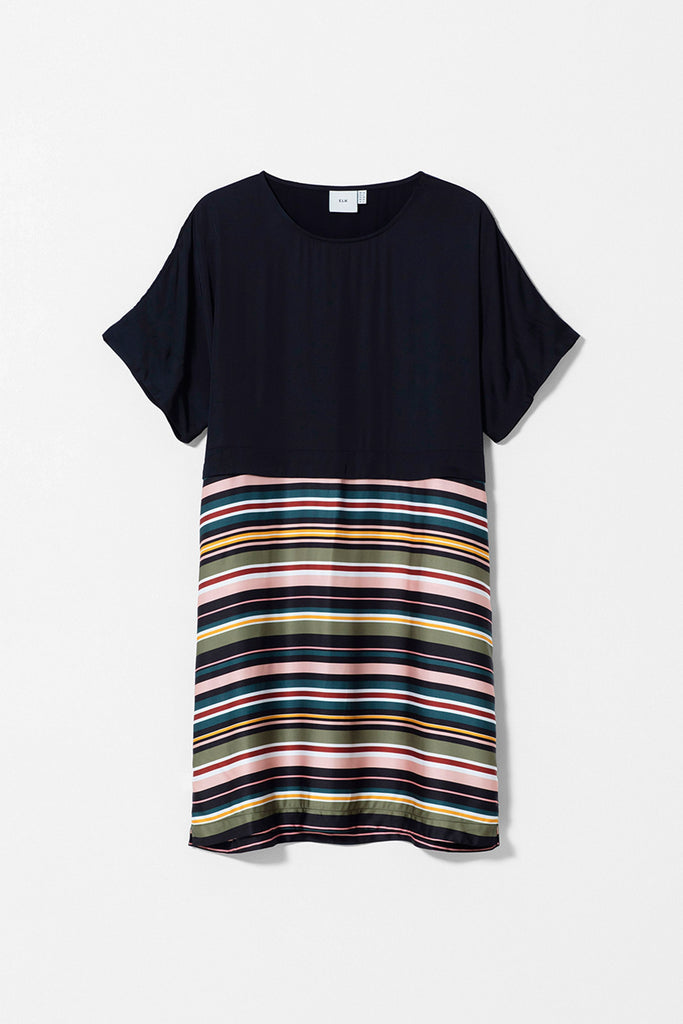 Elk Anitra Short Dress - Stripe