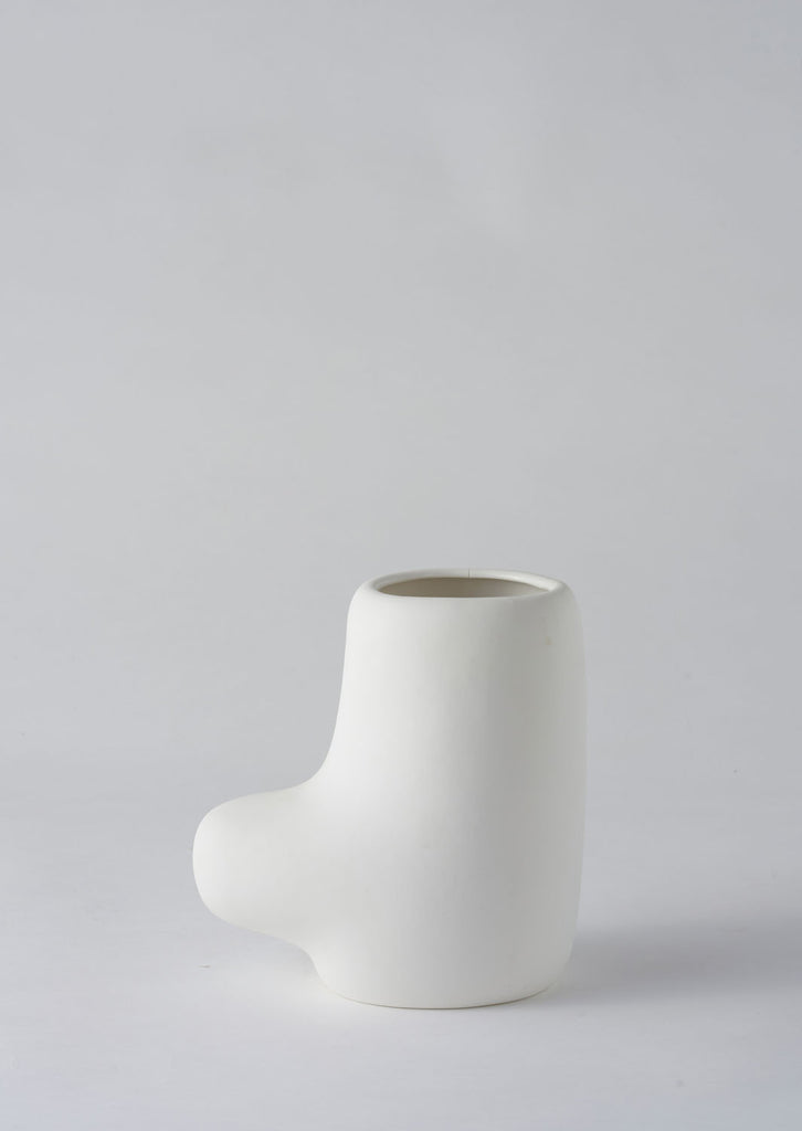 Angus & Celeste Art Form Vase - Small White