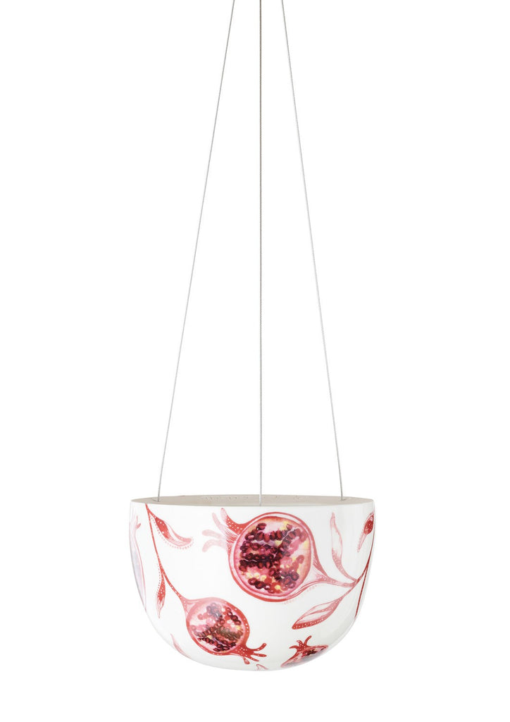 Angus & Celeste Hanging Planter Small - Pomegranate