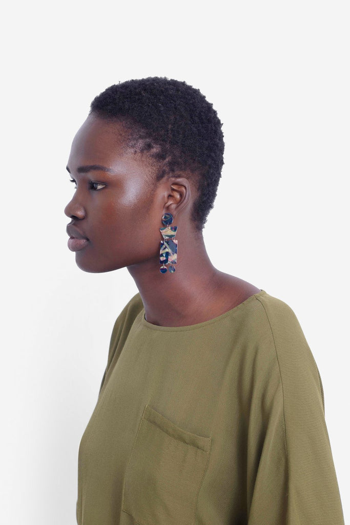 Elk Hilma Shapes Earrings