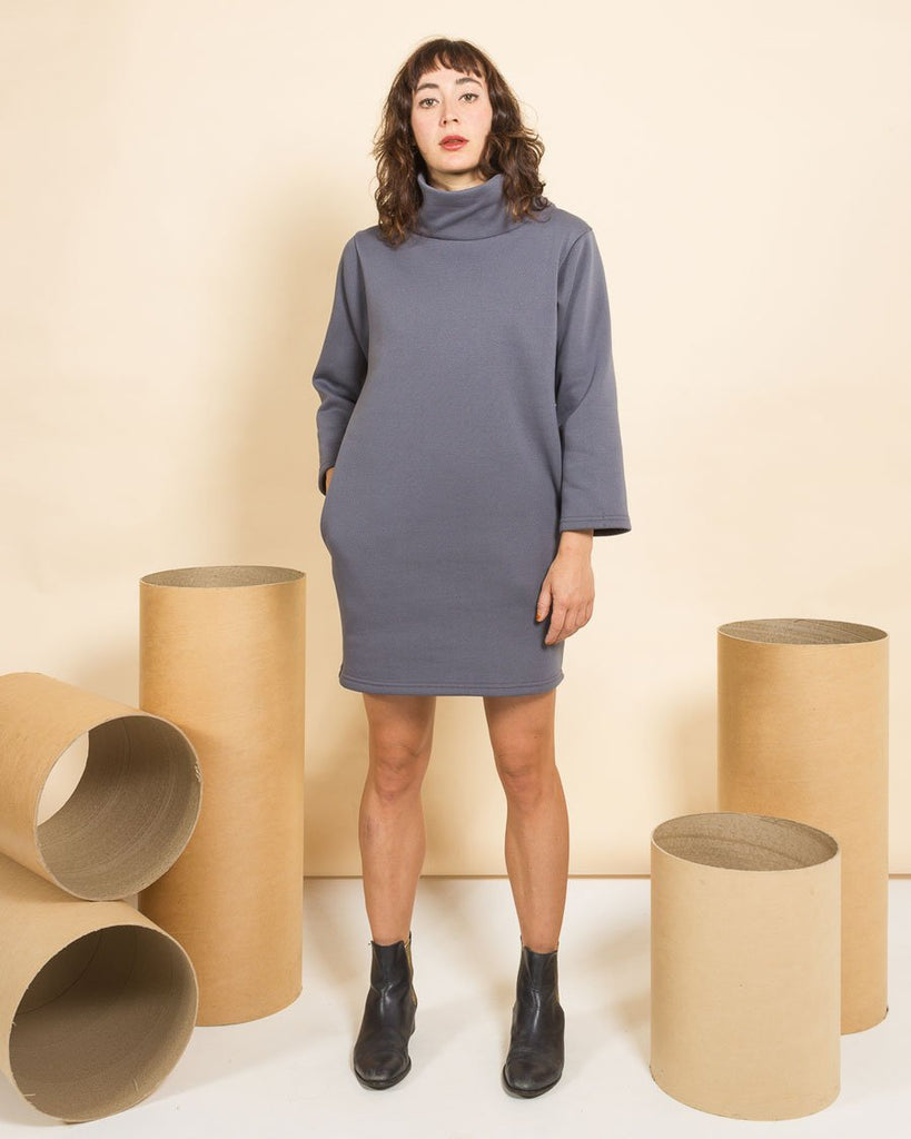 Kindling Snug Dress - Elephant Grey