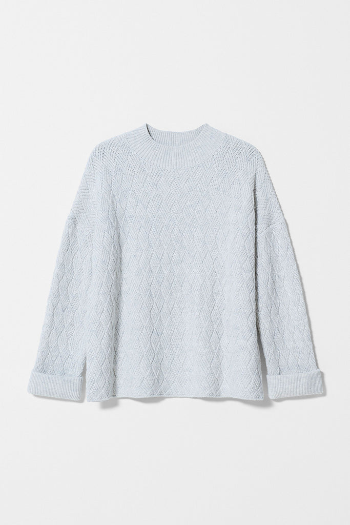 Elk Boden Sweater - Ice Fleck