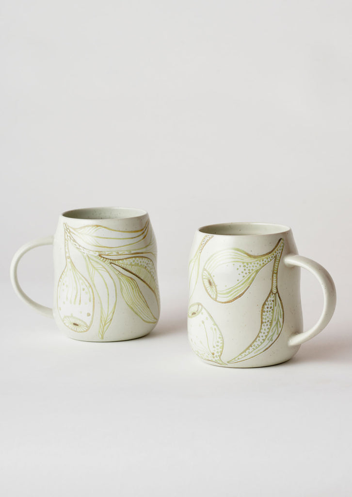 Angus & Celeste Everyday Mug Set - Eucalyptus