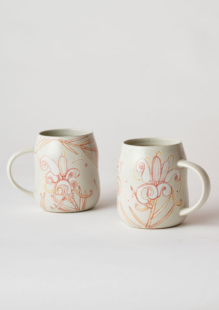 Angus & Celeste Everyday Mug Set - Grevillea