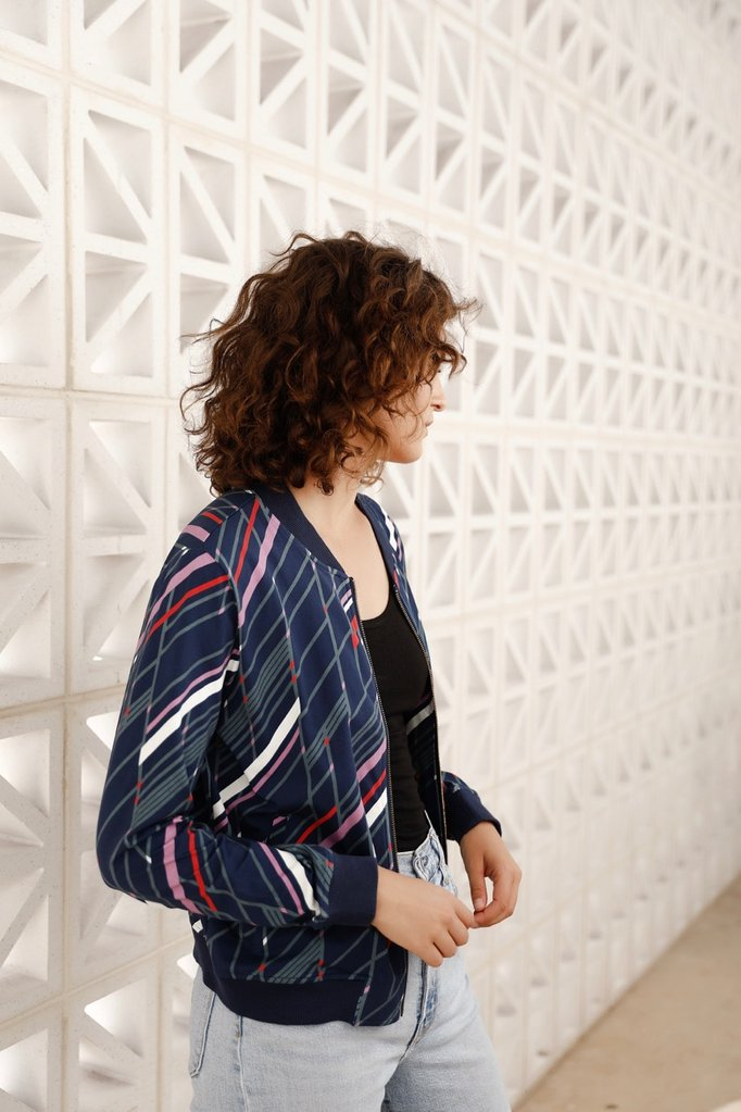 Frock Me Out Disco Ball Bomber Jacket