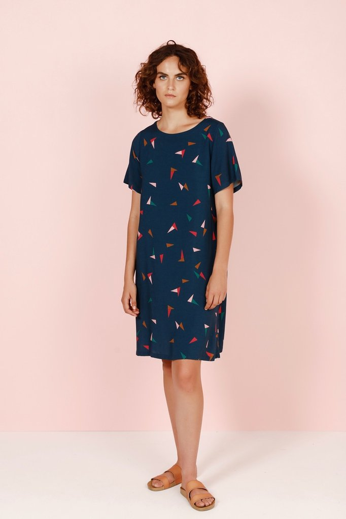 Frock Me Out Triangle Floaty Dress