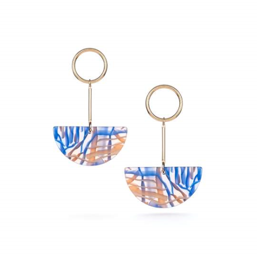 Baleen Lunette Earrings