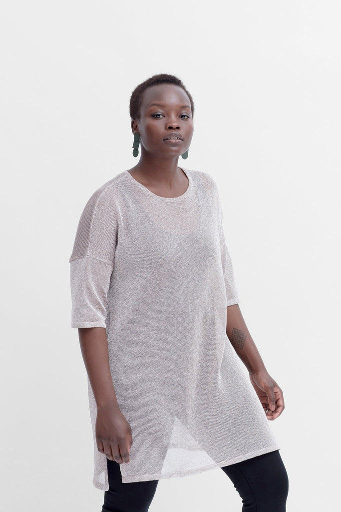 Elk Rania Tunic - Metallic