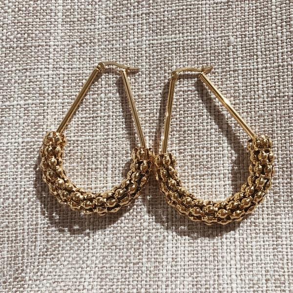 Kitsense Thea Pebble Hoops