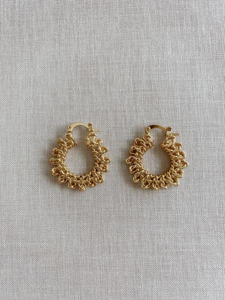 Kitsense Kayla Chain Luxe Earrings