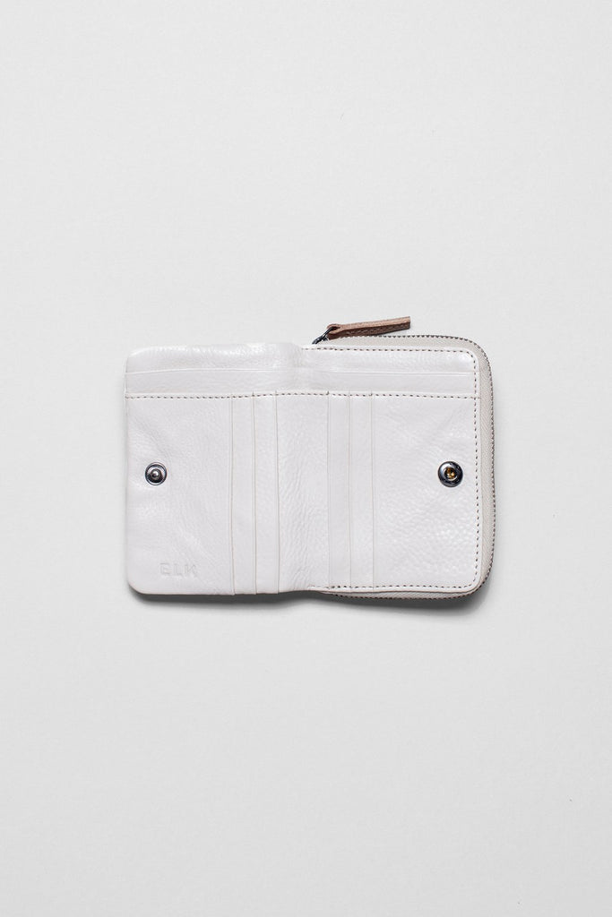 Elk Canutte Wallet - Blanc/Natural
