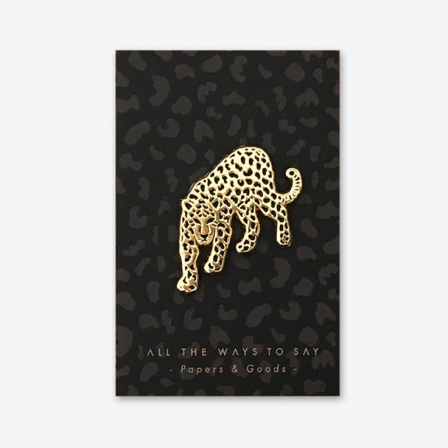 All The Ways To Say Enamel Pin Leopard