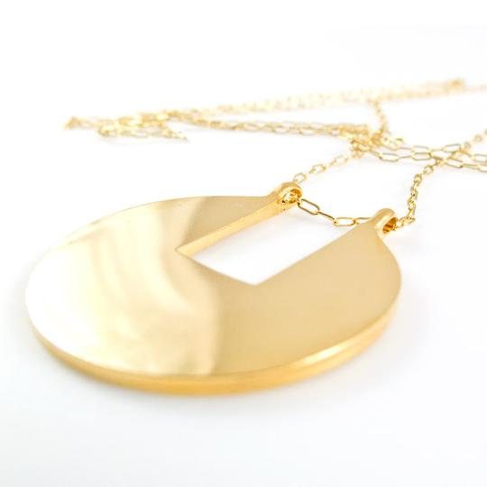 Baleen Subtracked Square Necklace