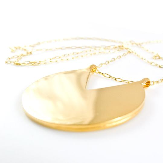 Baleen Subtracked V Necklace