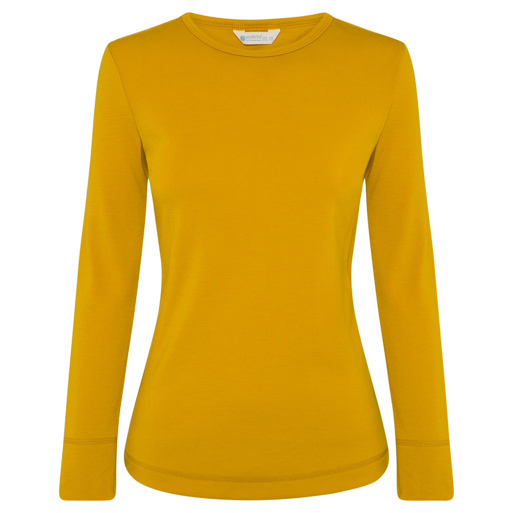 Woolerina Merino Crew Neck - Yellow
