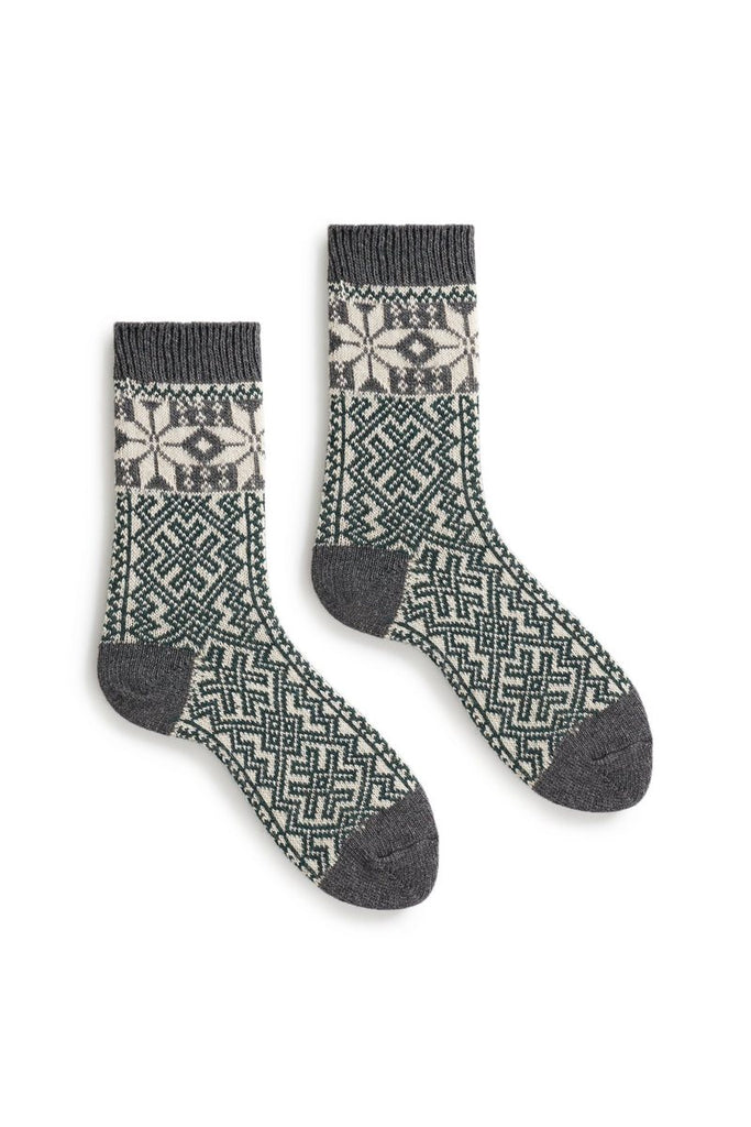 Lisa B Wool Trouser Socks - Alpine