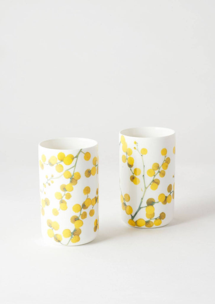 Angus and Celeste Tumbler Set-  Wattle
