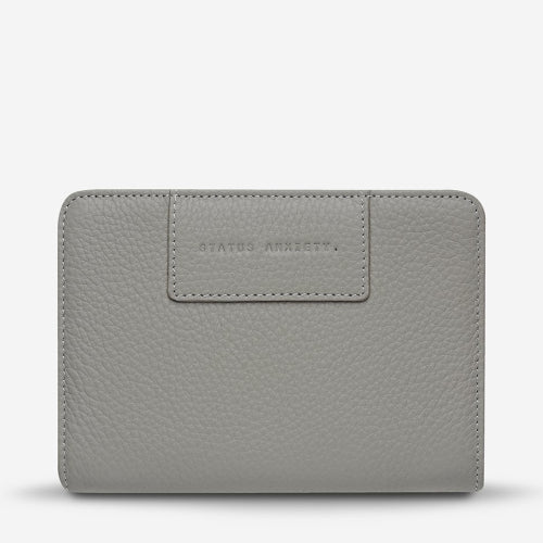 Status Anxiety Popular Problems Wallet - Light Grey
