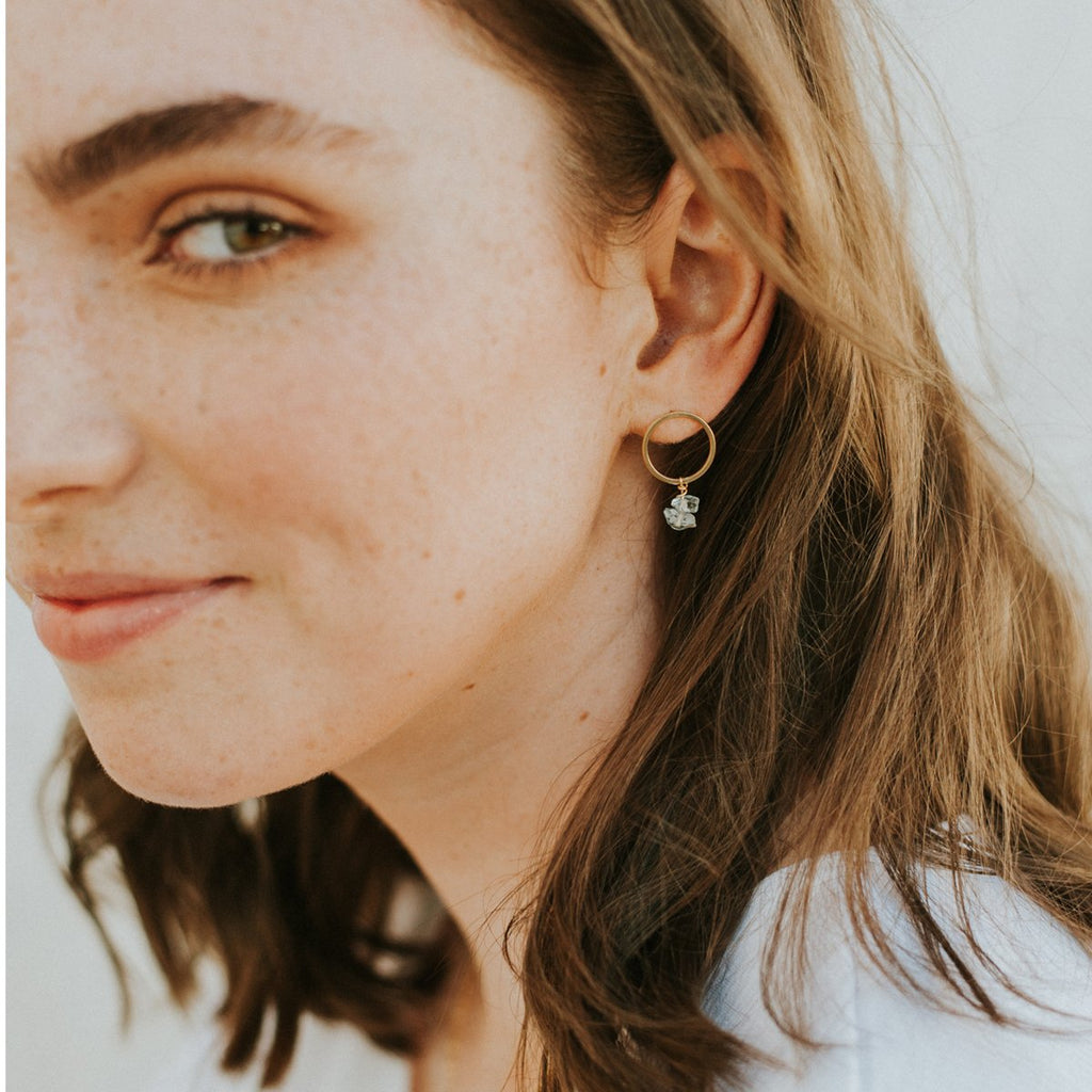 Linda Marek Ocean Earrings