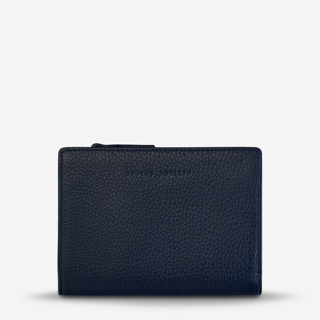 Status Anxiety Insurgency Wallet - Navy Blue