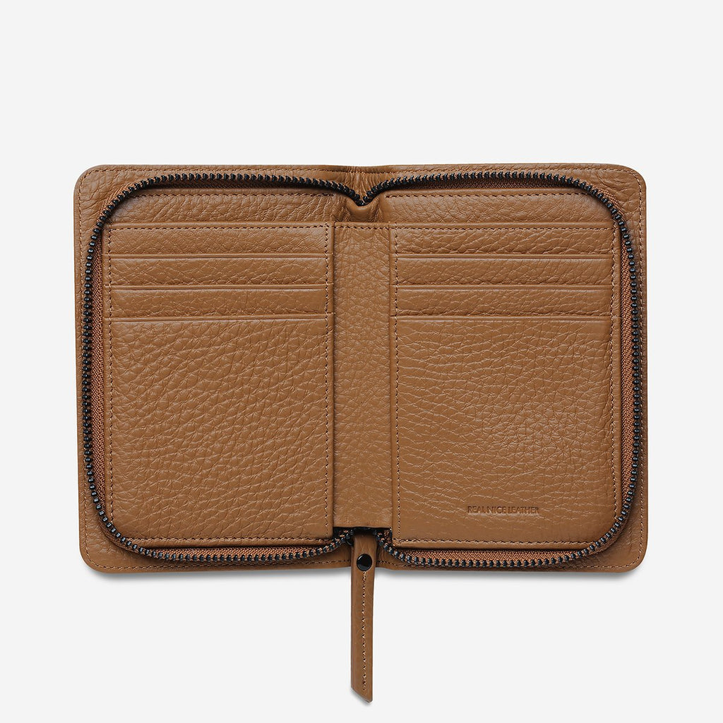 Status Anxiety Popular Problems Wallet - Tan