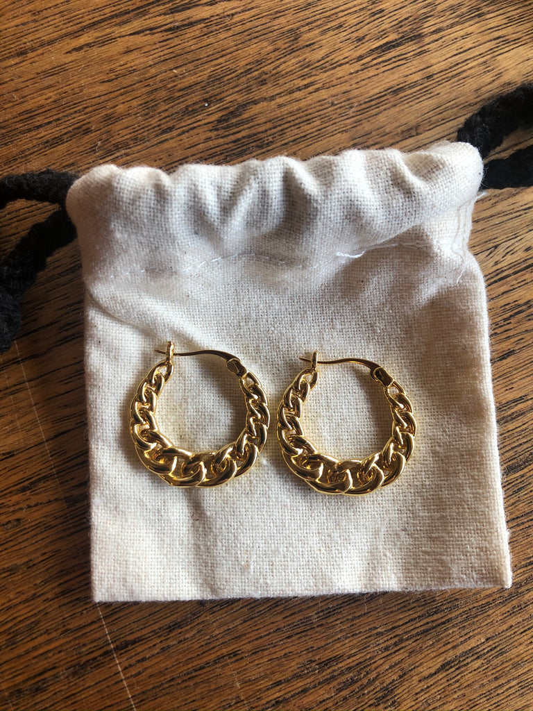 Kitsense Celine Chain Earrings