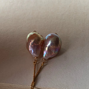 Unicorn Baby Edison Pearls 14kGF Threaders