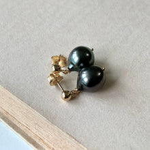 Load image into Gallery viewer, Classic Dark AAA Tahitian Baroque Pearls 14kGF