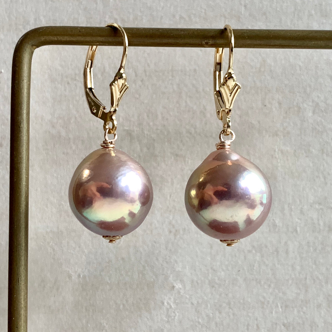 Gold-Unicorn Large Edison Pearls 14kGF