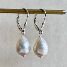 Load image into Gallery viewer, White Edison Pearls on 925 Silver