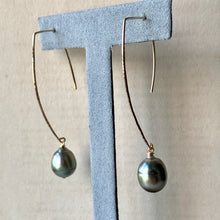Load image into Gallery viewer, AAA Large Edison Pearls (Hand Forged) 14kGF Earrings