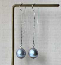 Load image into Gallery viewer, Silver Baroque Pearls 925 Silver Threaders