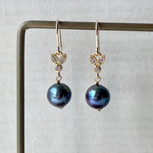 Load image into Gallery viewer, Peacock Freshwater Pearls Gold Bee
