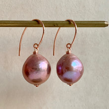 Load image into Gallery viewer, Lavender AAA Edison Pearls 14k RGF