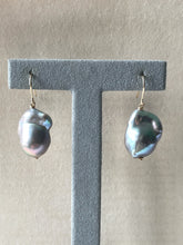 Load image into Gallery viewer, Silver Baroque Pearls 14kGF Earrings