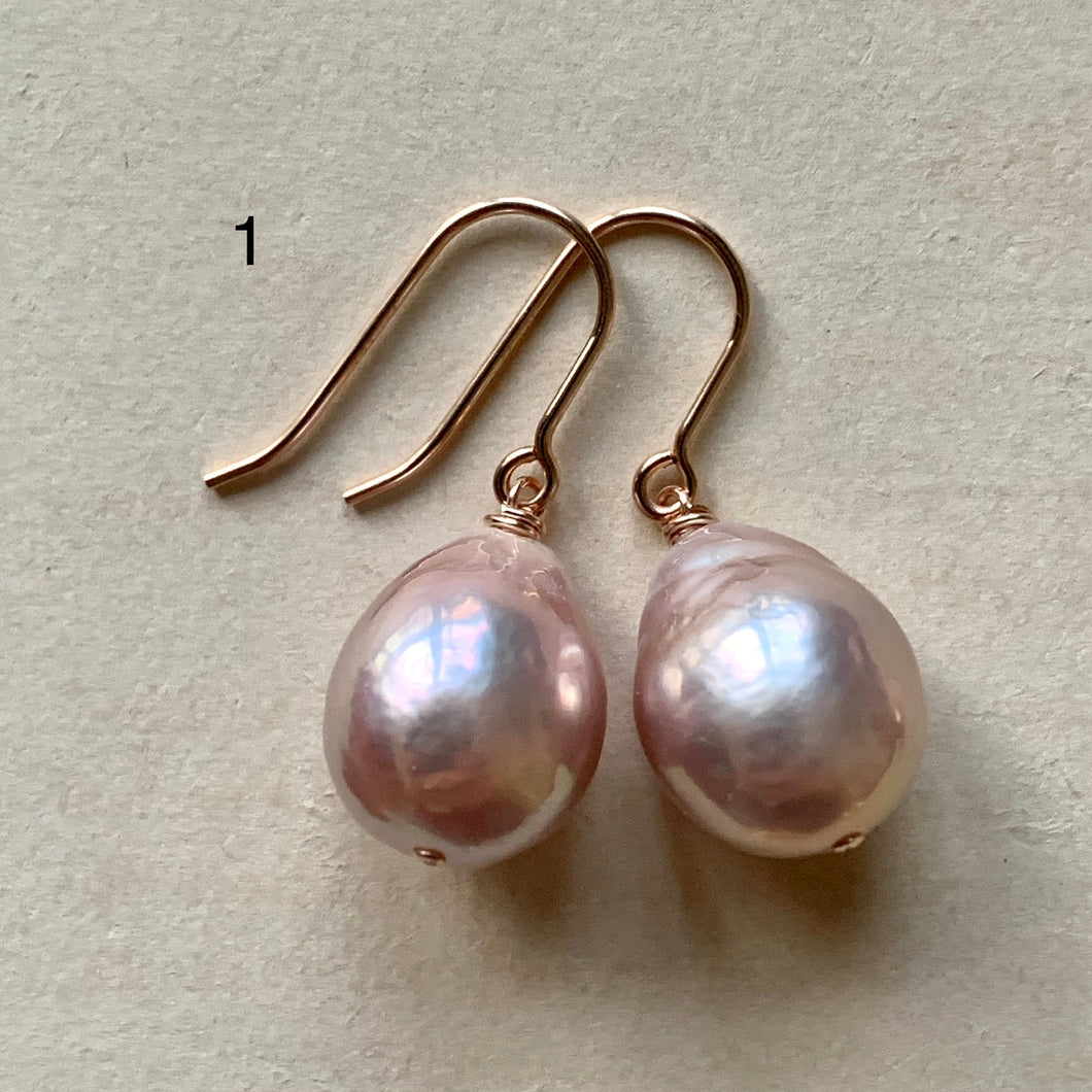 Minimalist AAA Edison Pearl Earrings #1-4: Smaller Pearls